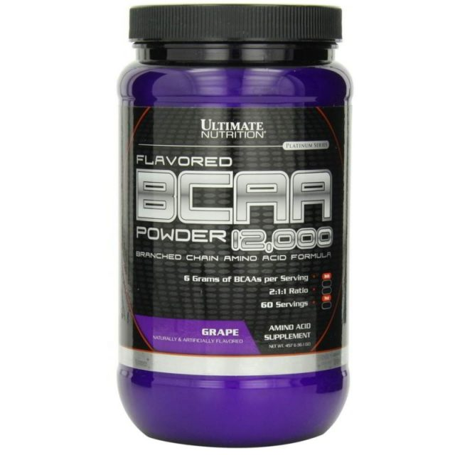 ULTIMATE NUTRITION BCAA-12000 FLAVORED