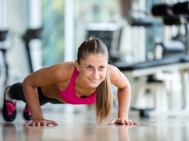 pushups-workout-fitness-woman